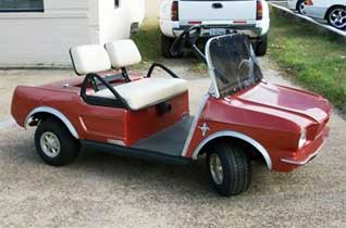 """Mustang"" Body Golf Car"